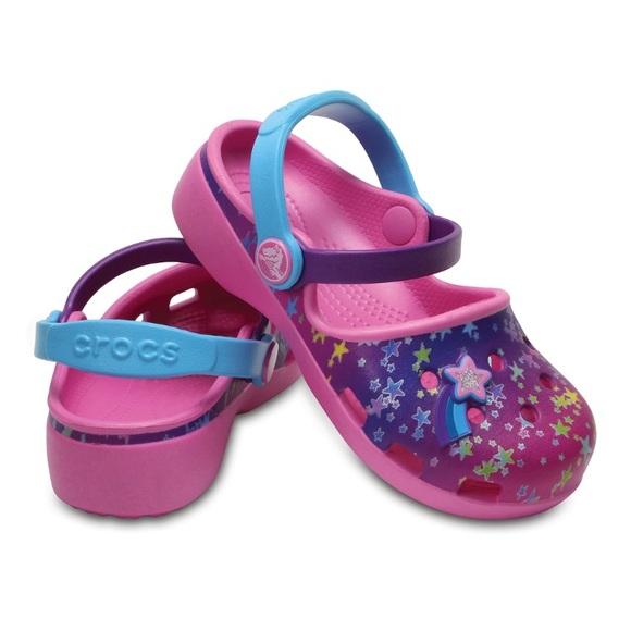 3443329624f ❤️SALE❤️Crocs Karin Novelty Preschool Girls  Clogs